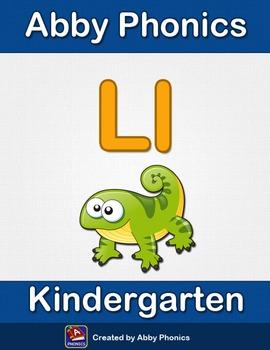 Abby Phonics - Kindergarten - The Letter L Series