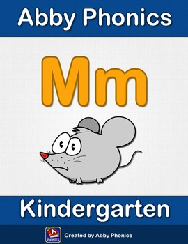 Abby Phonics - Kindergarten - The Letter M Series