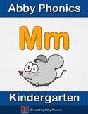 Abby Phonics - Kindergarten - The Letter M Series