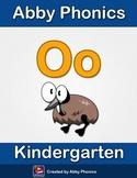 Abby Phonics - Kindergarten - The Letter O Series