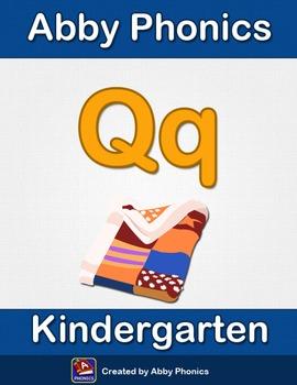 Abby Phonics - Kindergarten - The Letter Q Series