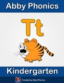 Abby Phonics - Kindergarten - The Letter T Series