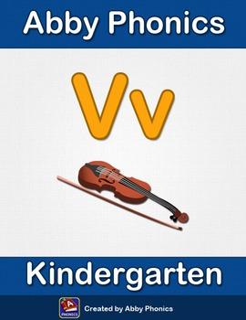 Abby Phonics - Kindergarten - The Letter V Series