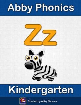 Abby Phonics - Kindergarten - The Letter Z Series