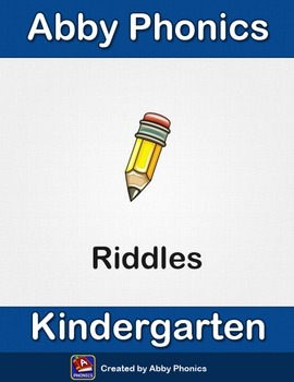 Abby Phonics - Kindergarten - Word Riddles Association Exercises