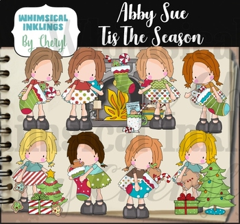 Abby Sue Tis The Season Clipart Collection
