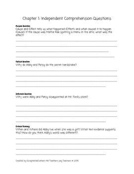 Abby Takes a Stand- Guided Reading Q Lesson Plan Bundle