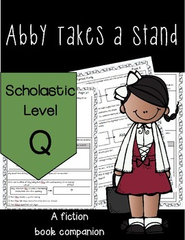 Abby Takes a Stand Reading Companion *NEW*