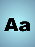 Abc Flashcards Sample