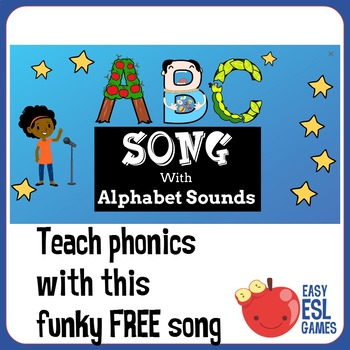 ABC Song with Phonics Sandwiched between 2 verses of the Alphabet Song