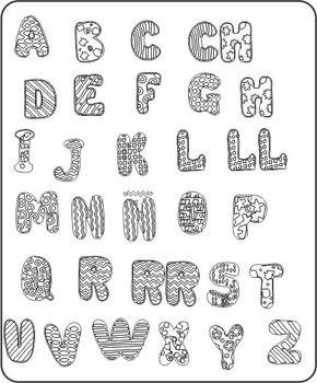 Abc letter - letras del abc