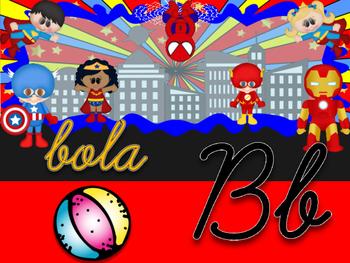 Abc super heroes espanol