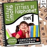 Conscience phonologique #1: Les lettres de l'alphabet