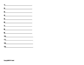 Abdominal Regions and Quadrants Identification Quiz or Worksheet