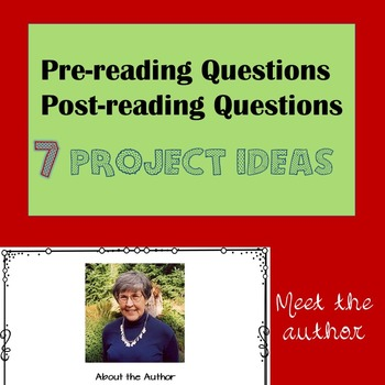 Abduction Comprehension Questions, Vocabulary, Project Ideas and More