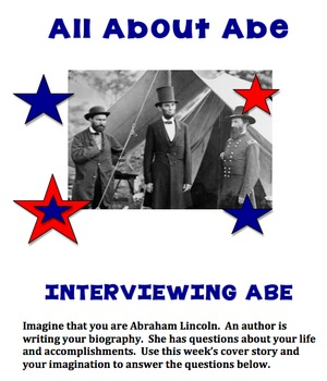 Abe Lincoln Classroom Activites