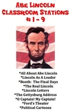 Abe Lincoln - Classroom Stations # 1 - 9 - ALL