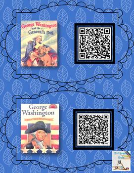 Abe Lincoln & George Washington QR code Books
