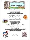 Abe Lincoln Poem