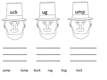 Abe Lincoln Rimes and Onset Hats