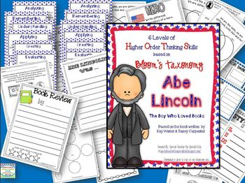 Abe Lincoln: The Boy Who Loved Books- Higher Order Thinking Skills