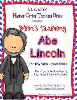 Abe Lincoln: The Boy Who Loved Books- Higher Order Thinkin