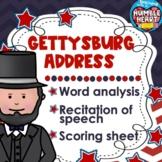 Abraham Lincoln - The Gettysburg Address Recitation