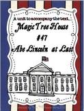 Abe Lincoln at Last {A mini-unit to accompany the Magic Tree House book}