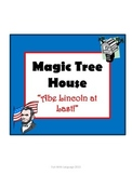 Abe Lincoln at Last! Magic Tree House #47 Comprehension Novel Study