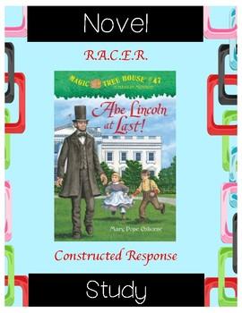Abe Lincoln at Last: Magic Tree House #47 (Osborne) Novel Study/R.A.C.E.R.