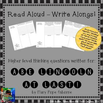Abe Lincoln at Last! Read Aloud Write Along