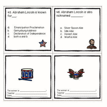 President Abraham Lincoln's Legacy  Biography Comprehension Passages