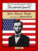 Abe's Honest Words: Text-Dependent Questions and More!