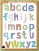 Alphabet et chiffres (writting alphabet activities)