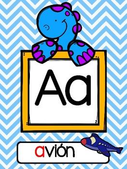 Abecedario (Alfabeto) Spanish Alphabet