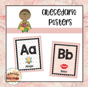 Abecedario (Alphabet) Posters