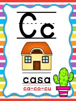 Abecedario Manuscrito - Cactus