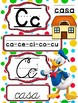 Abecedario Manuscrito y Cursivo Mickey Mouse Club House