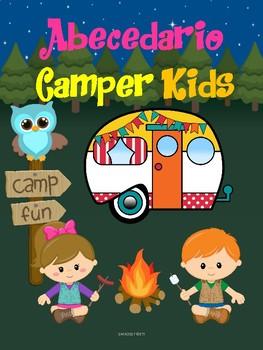 Abecedario Motivo Camper Kids