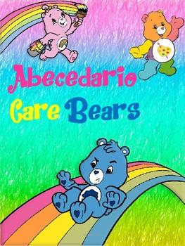 Abecedario Motivo Care Bears
