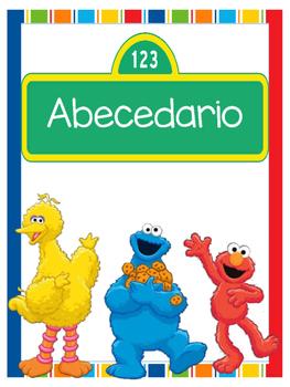 Abecedario - Motivo Elmo
