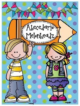 Abecedario - Motivo Melonheadz