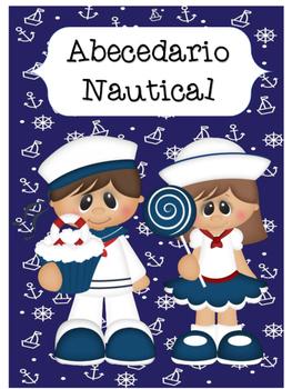 Abecedario - Motivo Nautical