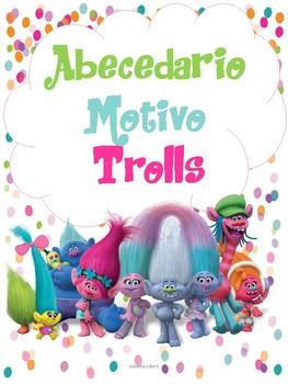 Abecedario Motivo Trolls