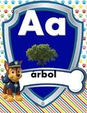 Abecedario Paw Patrol
