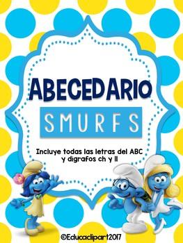 Abecedario: Pitufos (Smurfs)