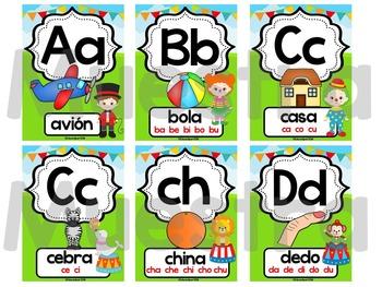 Abecedario - Posters Circo
