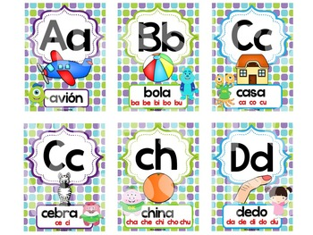 Abecedario - Posters MOnsters