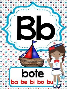 Abecedario - Posters Nautical Kids
