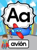Abecedario - Posters Superhéroes / Spanish ABC